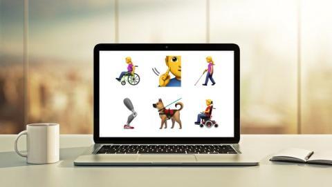 Apple propone 13 nuevos emojis para personas con discapacidad