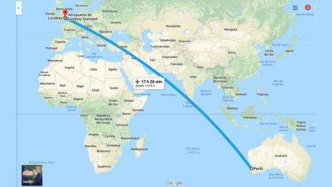 Se completa el vuelo más largo entre Europa y Australia sin escalas