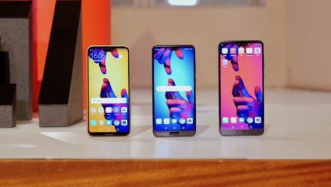 Familia Huawei P20