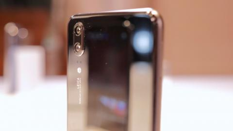 Huawei P20, cámara trasera