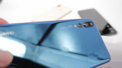 Huawei P20 Pro: triple cámara