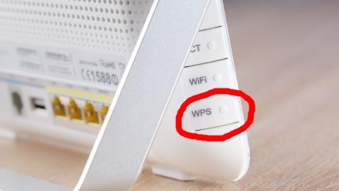 Para qué sirve el botón WPS del router.