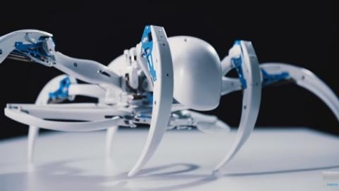 Este robot araña es tan terrorífico como una tarántula de verdad