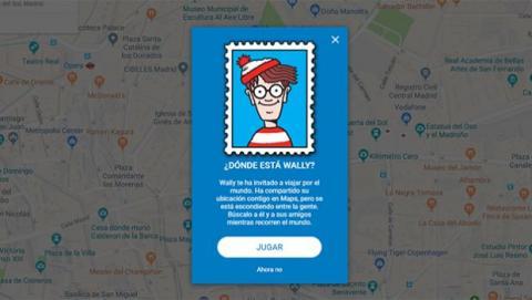 jugar a dónde esta wally en google maps