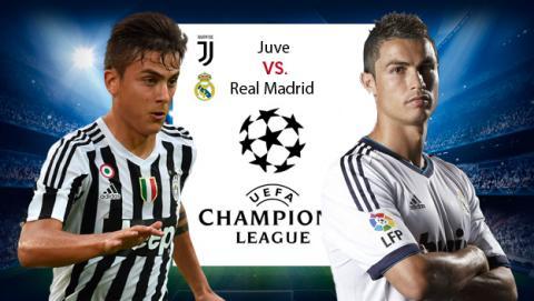 Enlaces para ver gratis el Juventus vs Real Madrid de Champions.