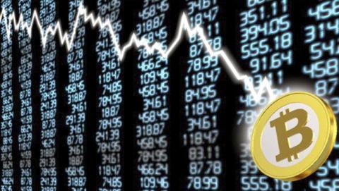 La caída del precio del Bitcoin provocará el estallido de la burbuja de las criptomonedas