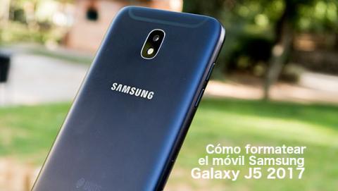 Formatear Galaxy J5 2017