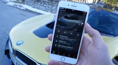 Aplicación de BMW Connected