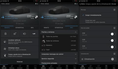 Así es la aplicación de BMW Connected