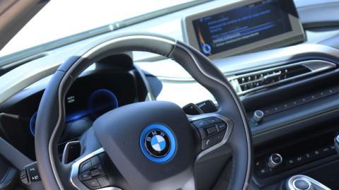 El navegador del BMW i8