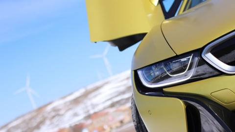 Faros láser de BMW