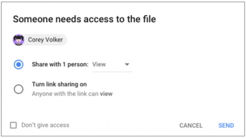 Access Checker Google Drive