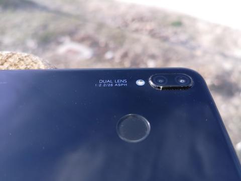 Huawei P20 Lite - detalle cámaras