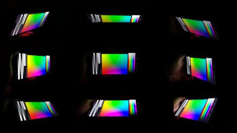 Huawei P20 Lite - ángulos de visión