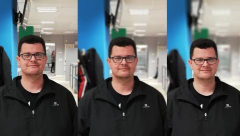 P20 Lite - modo apertura vs Modo retrato