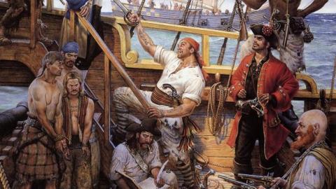 Descubren la tumba de Black Sam Bellamy, el pirata más rico de la historia