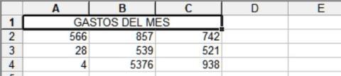 Cómo fusionar celdas en Excel