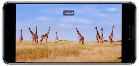 16:9 en la pantalla del Huawei P20