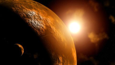 El sol visto desde otros puntos del Sistema Solar.