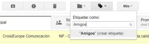 Cómo crear carpetas en Gmail