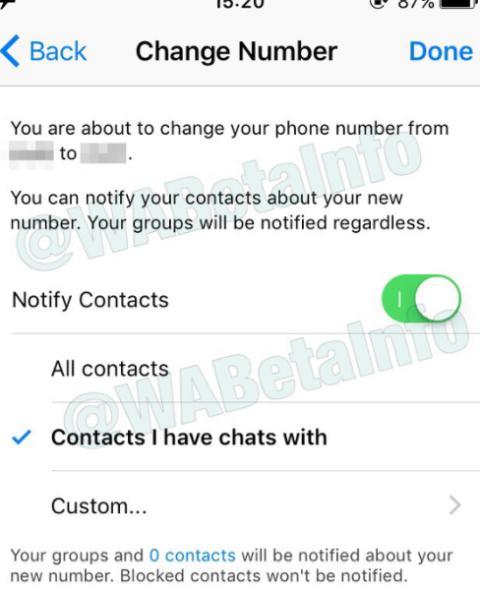 notificar contactos de whatsapp