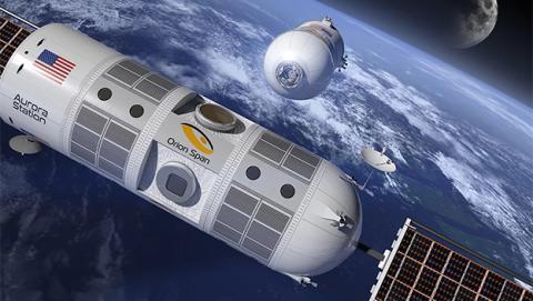 Estación Aurora, así es el primer hotel de lujo en el espacio
