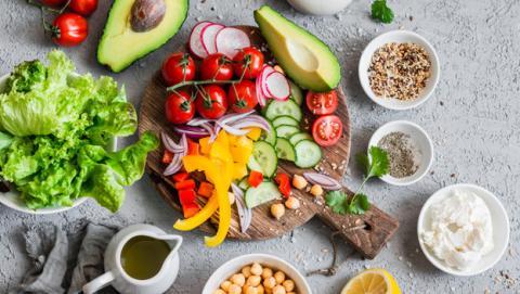 Mejores ensaladas bajas en calorías para adelgazar.