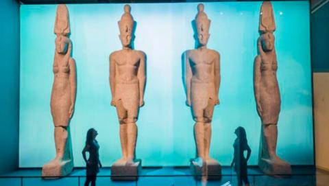Origen estatuas Thonis-Heracleion