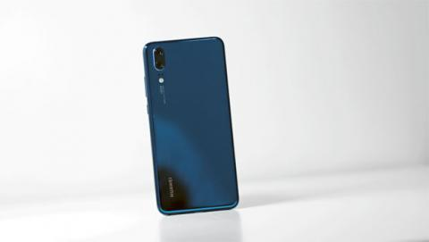 Trasera del Huawei P20