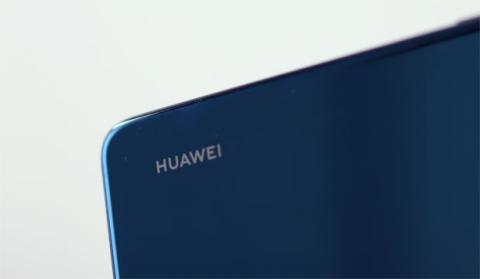Logo de Huawei en el P20