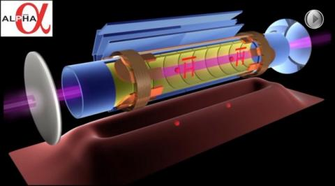 Descubren por primera vez el color de la antimateria