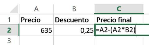 Cómo Usar El Porcentaje De Descuento En Excel Tecnología