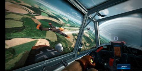 El juego War Wings en el Huawei P20
