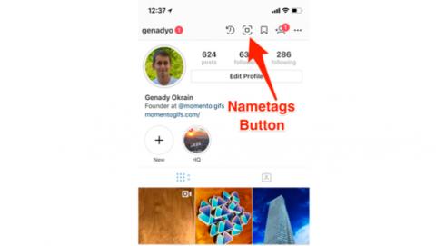 Cómo funciona la función etiquetado nombres de Instagram