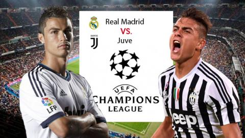 Enlaces para ver el Madrid - Juventus de Champions League 2018.