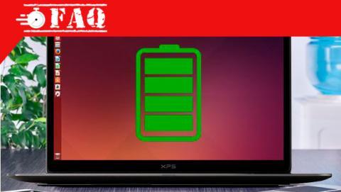 Cómo ahorrar batería en un portátil Ubuntu.