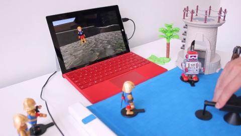 Project Zanzibar: la alfombrilla 3D de Microsoft que revolucionará los juegos