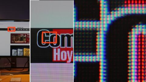 Densidad de píxeles en la Samsung CHG90