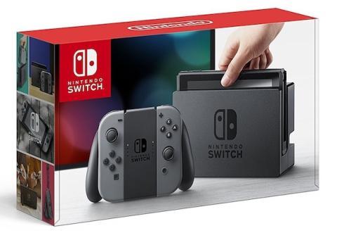 Nintendo Switch gris por 298 euros