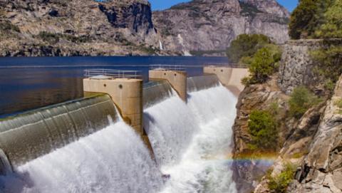 Nivel de los embalses de agua en España