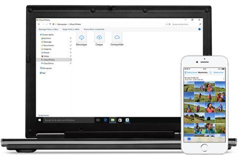 Descargar fotos de iPhone en Windows 10