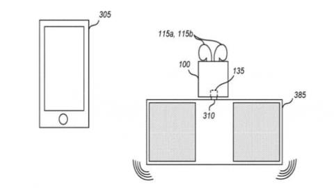 Caja Airpods altavoz Bluetooth