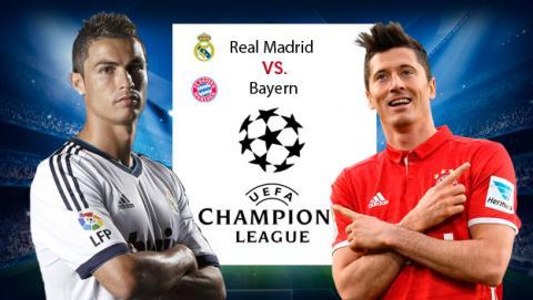Enlaces para ver online el Madrid Bayern de Champions.