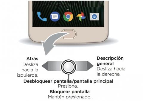 Control gestual Moto G5 Plus