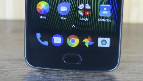 Moto G5 Plus - control un solo dedo