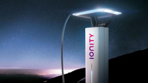 Ionity, una electrolinera de recarga rápida