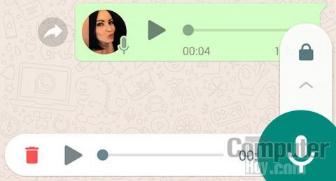 cómo escuchar notas de voz en WhatsApp para Android