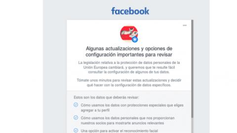 Cambios política privacidad Facebook