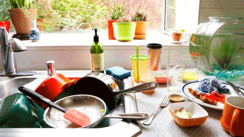 Mayores errores al limpiar la cocina