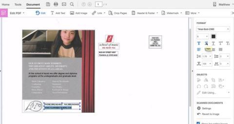 Cómo convertir una imagen escaneada en un documento editable